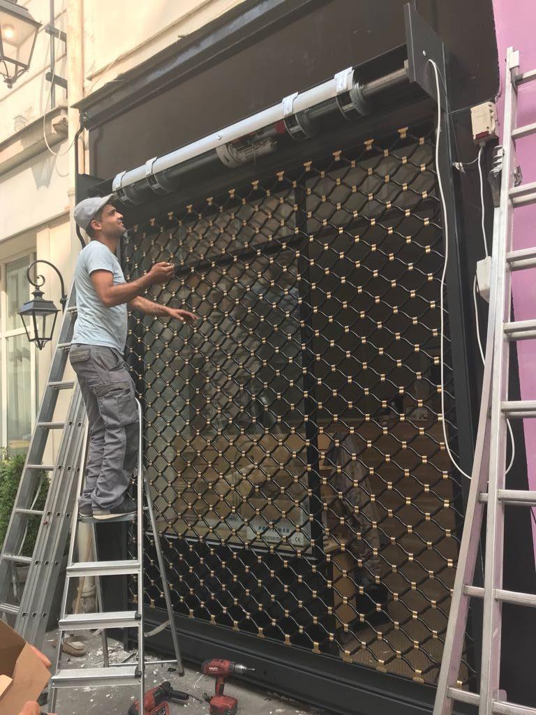 Dépannage rideau métallique Paris 11 75011