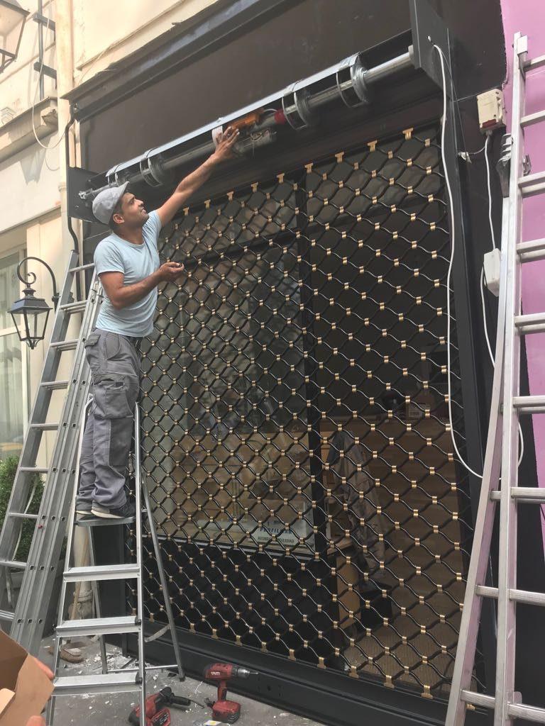 dépannage rideau métallique Paris 10
