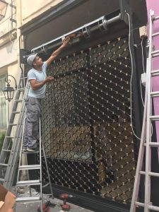 Dépannage rideau métallique Paris 20