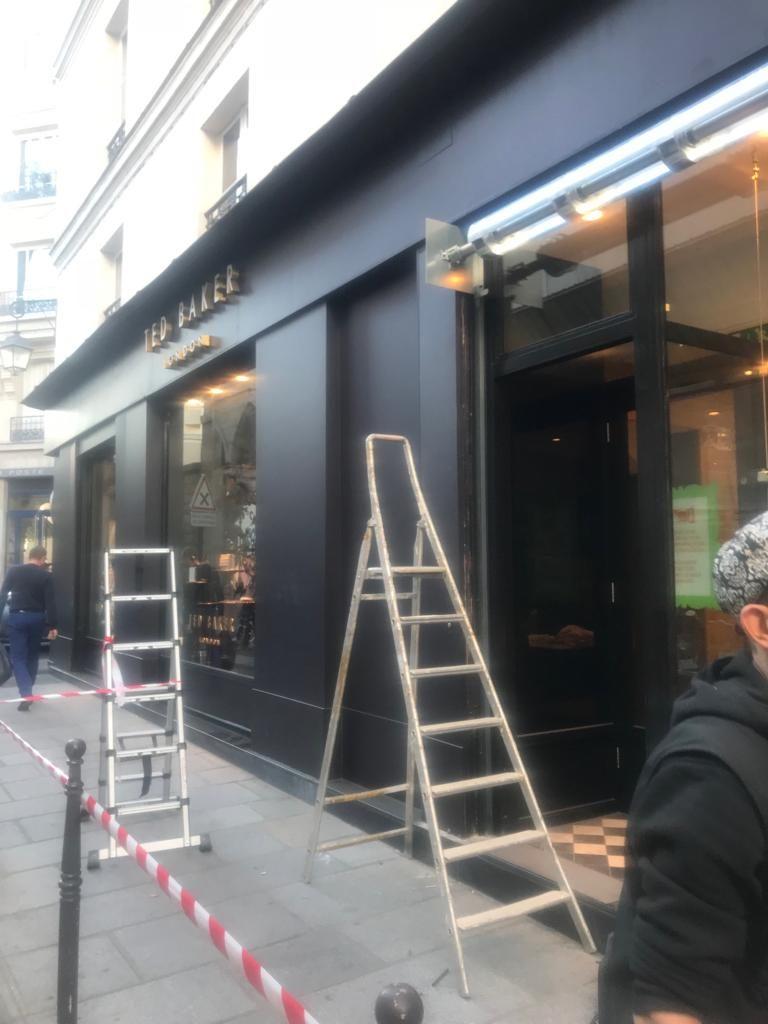 Spécialiste de rideaux métalliques Paris 8