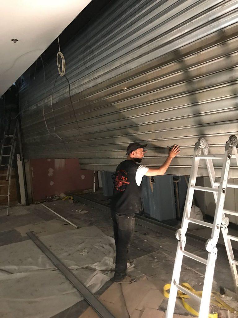 Expert dépannage rideau métallique Paris 14