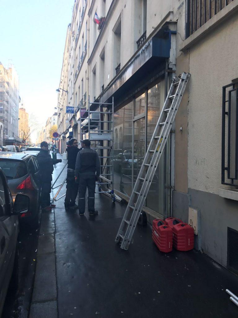 Réparation rideau métallique Paris 16