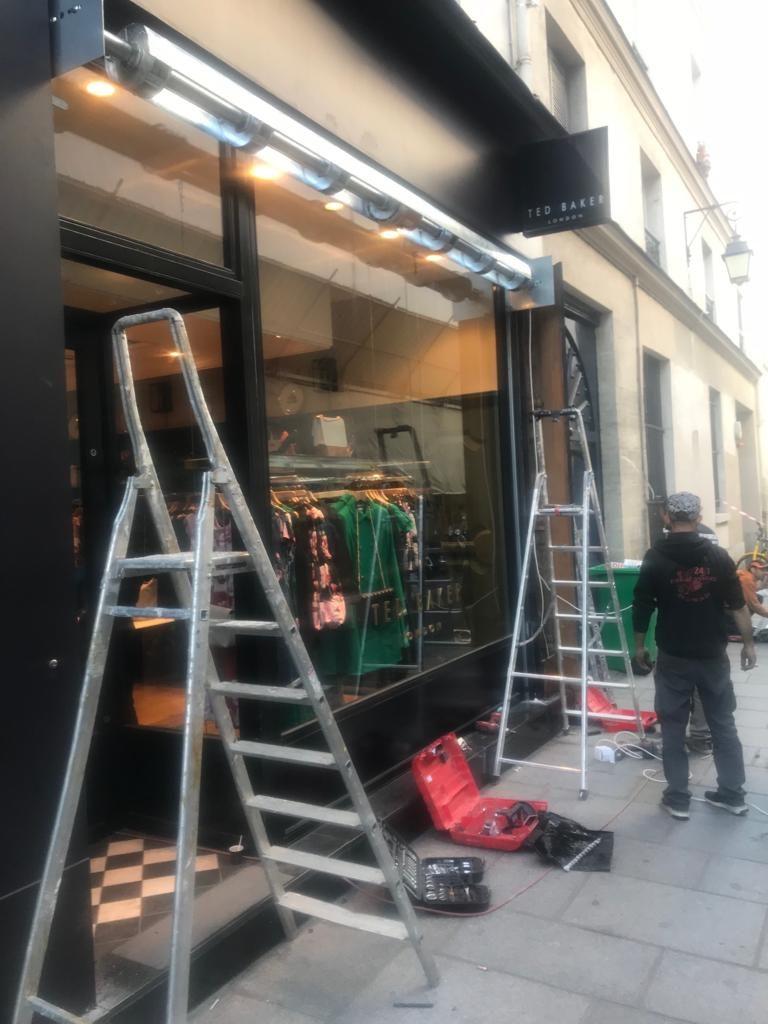 Réparation de rideau métallique à Paris 8