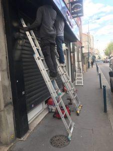 déblocage rideau métallique à paris 16