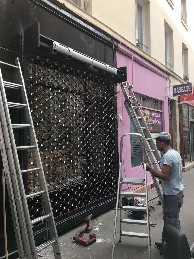 Réparation rideau métallique à paris 2 (75002)